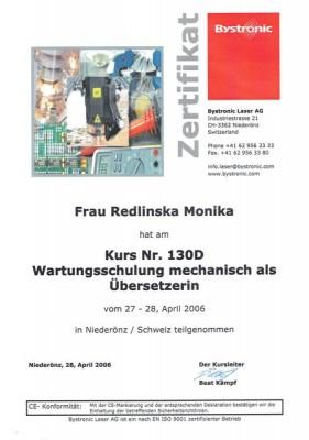 Monika-Redlinska-certyfikaty-BYSTRONIC